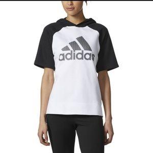 Adidas Short-sleeve Hoodie